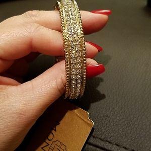 Gold CZ bracelet